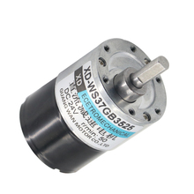 12V brushless motor 24V DC motor 37 brushless deceleration positive and negative motor цена