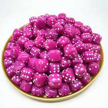 New 30PCS/Lot 6 Sided Portable Drinking Dice 8MM Acrylic Round Corner Board Game Dice Party Gambling Game Cubes Digital Dices#08