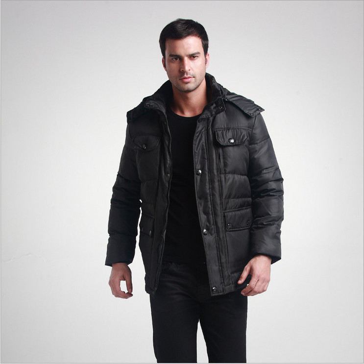 New fashion BIG men's down jacket warm winter coat outdoors parka ...