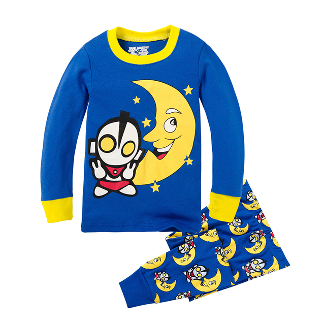 Easter Cotton Ultraman Clothes All for Kid Clothes And Accessories Altman Children Cartoon Home Wear Boy Kid Pajamas Sport Suit