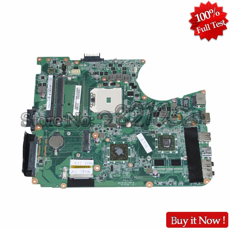 NOKOTION A000081310 DA0BLFMB6E0 Laptop Main Board for Toshiba Satellite L650D L655D Notbook Motherboard nokotion for toshiba satellite l840 l845 laptop motherboard main board ddr3 daby3cmb8e0 a000174140 hd7670m 1gb