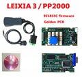 2018 новейший Lexia3 с 921815C прошивкой lexia PP2000 V48/V25 Lexia 3 Diagbox scan Lexia-3 obd2 диагностический инструмент-100% работает