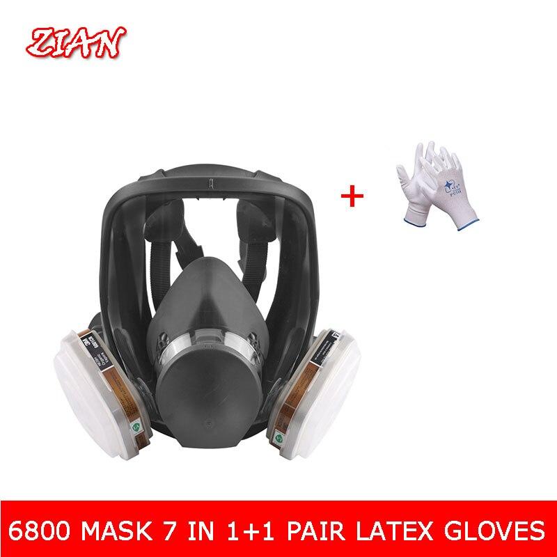 6800 pcs 9 da Máscara de Gás Rosto Cheio Máscara Anti-orgânico De Metano do 021d6fd4ce