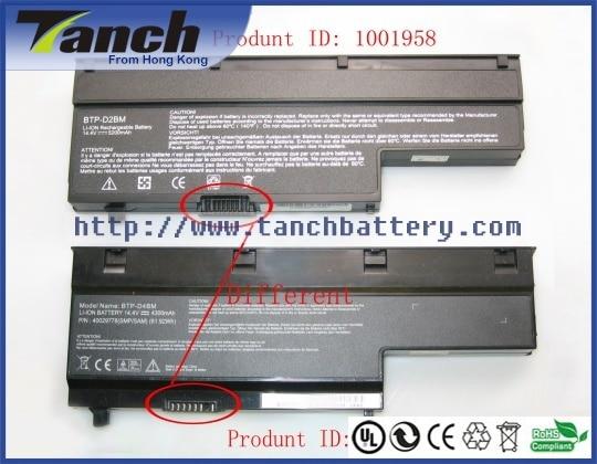 Batterie d'ordinateur portable pour MEDION MD97110 MD97007 40026270 AKOYA P6612 P6613 MD97358 E7212 MD-97440 MD97446 14.8 V 8 cellules