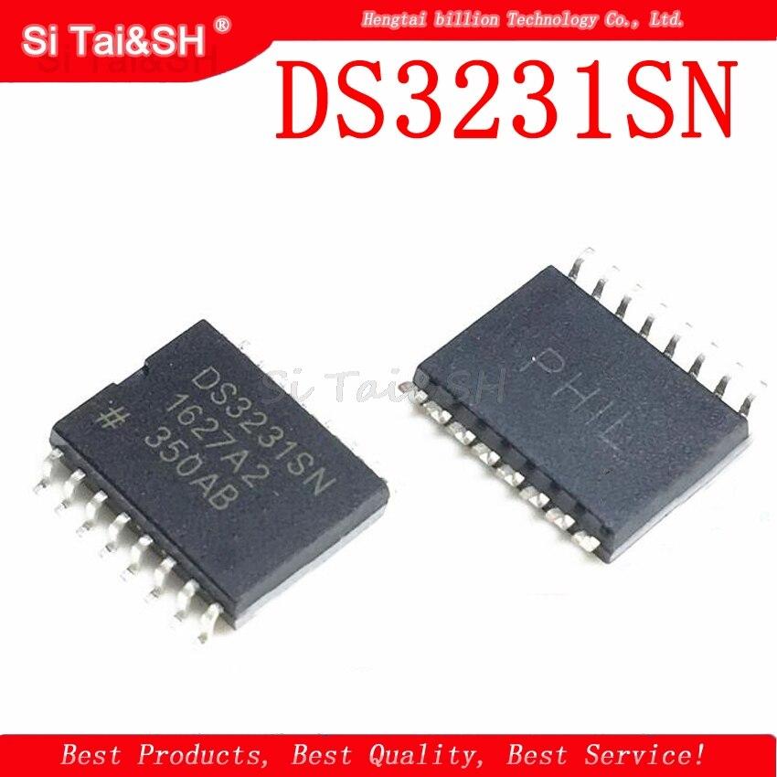 2PCS DS3231SN SOP16 DS3231 SOP Extrem Genaue I2C-Integrated RTC/TXO/Kristall Neue Und Original Kostenloser Versand