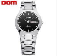Men Luxury Fashion Business Dress Luxury Brand Top Watch DOM Quartz Men Wristwatches Dive Fashion Casual