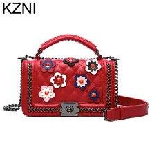 KZNI genuíno sacos de mão das senhoras bolsas de grife de alta qualidade sacos crossbody para as mulheres da moda bolsa bolsas femininas L110617(China (Mainland))