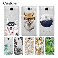 CaseRiver Soft Silicone Huawei Y5 II Case Cover Back Protective Phone Huawei Y5 II Y5 2 / Y6 II Compact / Honor 5A LYO-L21 Case