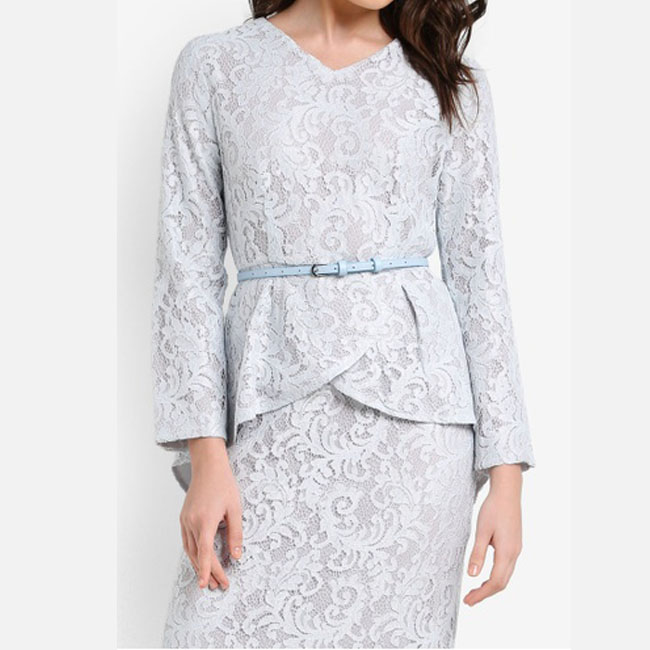 Advanced Customization Wholesale Middle East Women Fashion High Waist Baju  Lace Party Dresses Muslim Baju Kurung Maxi Long Dress-in Dresses from  Women s ... bb1e648320ea