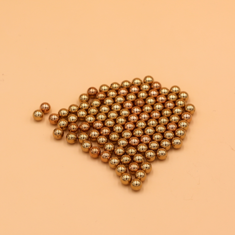 8mm 40 PCS Solid Brass ( H62 )  Bearing Ball Free Shipping