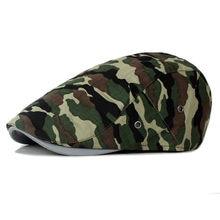 Feitong camuflaje casquillo de la boina Viseras sombreros para hombres y  mujeres Sol sombrero gorras hombres fd3c8a19c4d