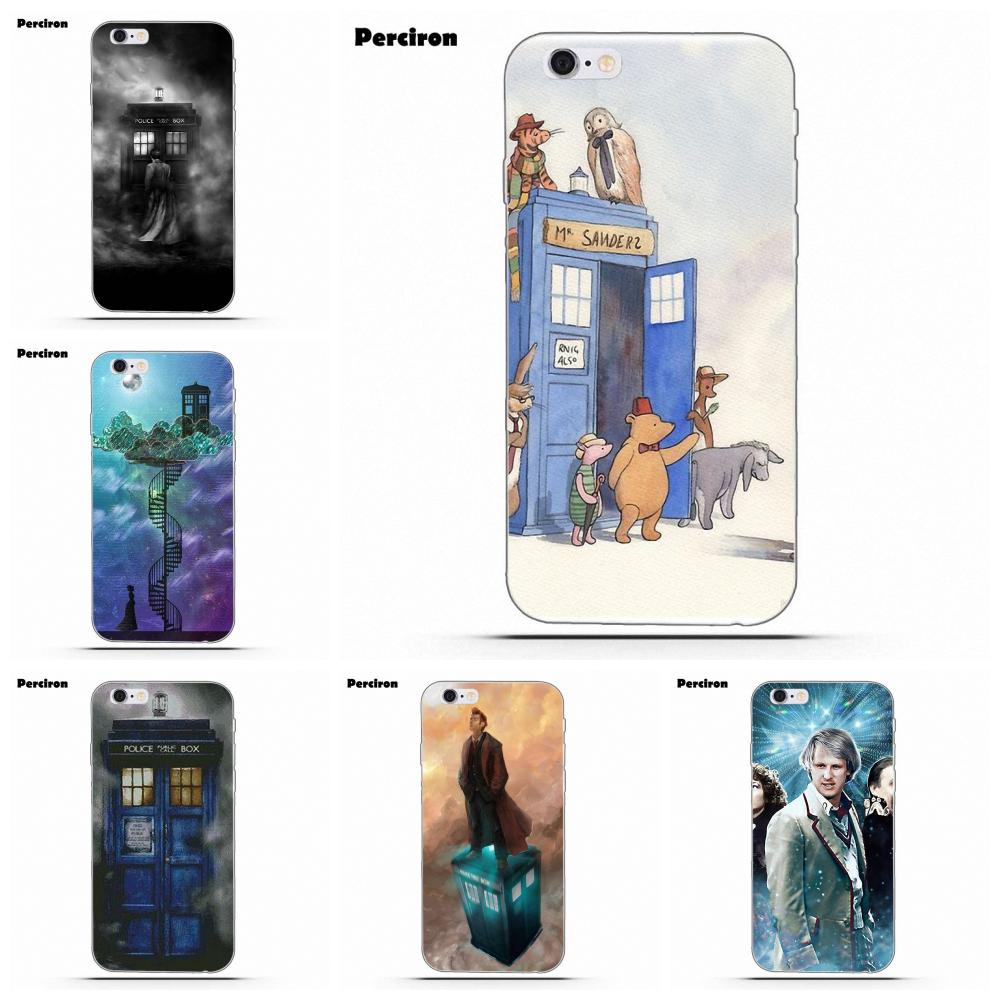 Phone Bags & Cases Tardis Box Doctor Who Tempered Glass Tpu Black Cover Case For Samsung Galaxy S7 Edge S8 S9 Plus S10 Note 8 9 In Pain