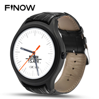 Finow X1 K8 Mini Smart Watch Android 4.4 Wearable Devices 3G WIFI GPS Clock NO.1 D5 Smartwatch PK KW88 KW18 I3 DM368 watch black