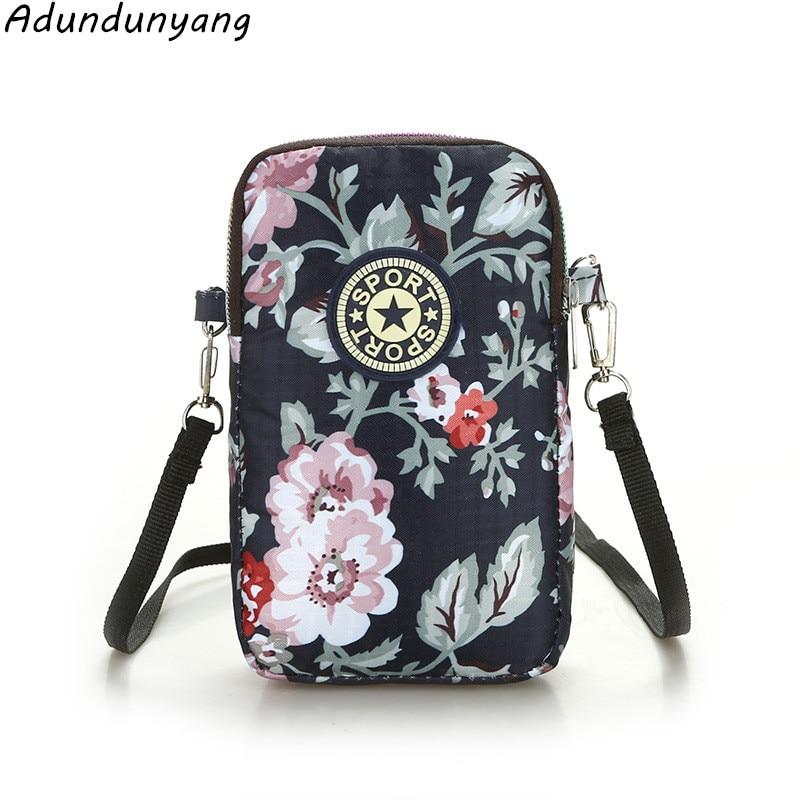 Hot Cartoon  Crossbody Bag For Women Canvas Mini Shoulder Bags Female Phone Bag Purse And Handbags