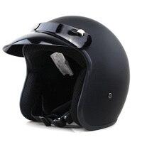 VOSS Motorcycle Helmet Motorcross Full Face Vintage Helmet For Scooter Crash Helmet Windproof Open Face Harley