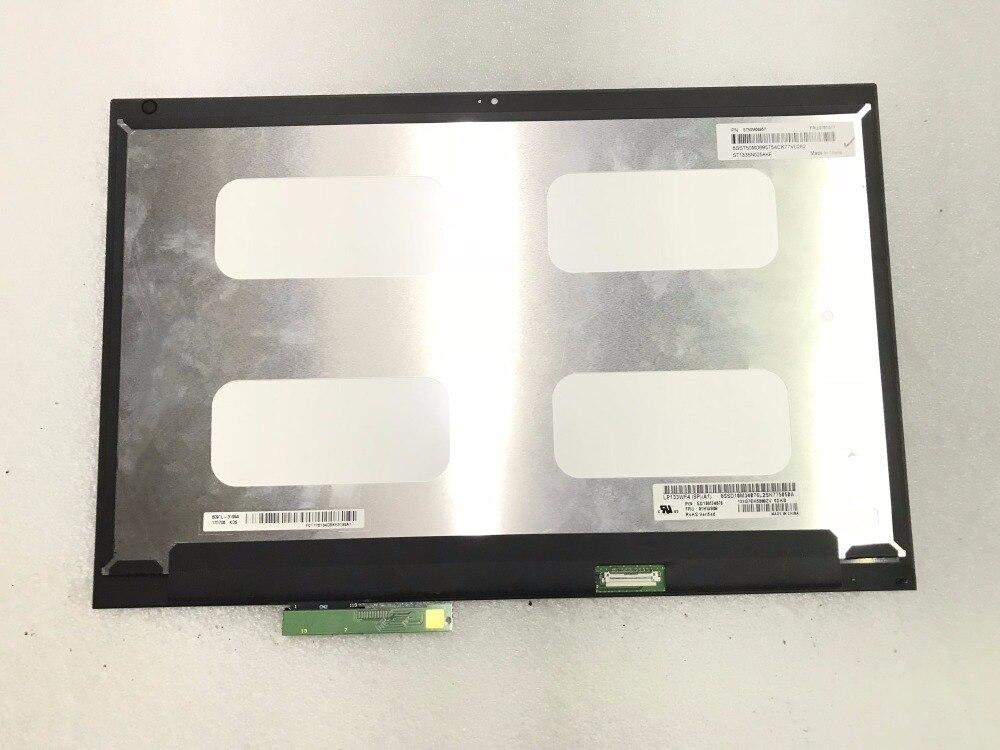 13,3 pulgadas de pantalla táctil LCD para Lenovo Thinkpad Yoga 370 13 pantalla LCD táctil digitalizador Asamblea FHD 01HW909 1920*1080 reemplazo