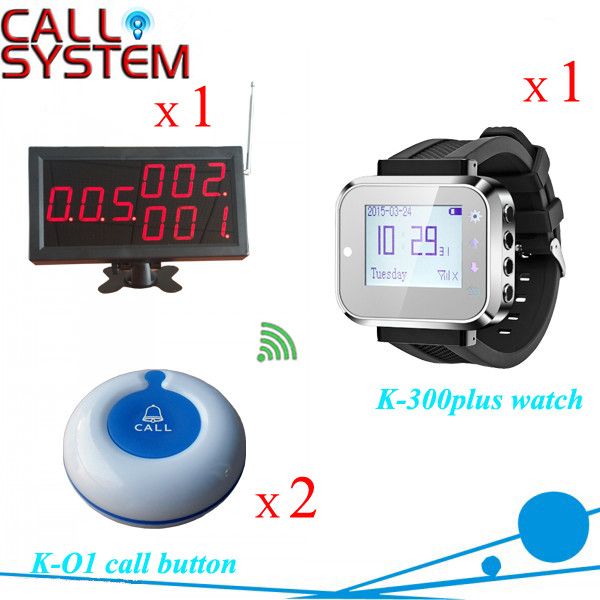 K-4-C+300PLUS+O1-WBlue 1+1+2 Electronic wireless paging services