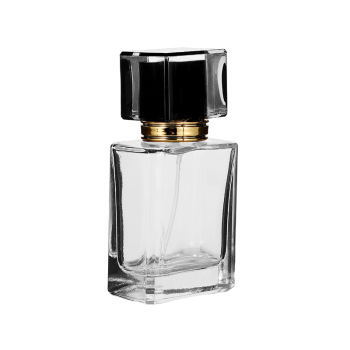 Ynzzio 50ml/30ml  Clear  Refill Glass Spray Refillable Perfume Bottles Glass Automizer Empty Cosmetic Container For Travel