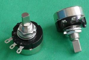 RV24YN20F B102 B202 B502 B103 B503 B104 B504 RV24YN 2W Half Shaft Game Machine Rotary Carbon Film Potentiometer x 10PCS(China)