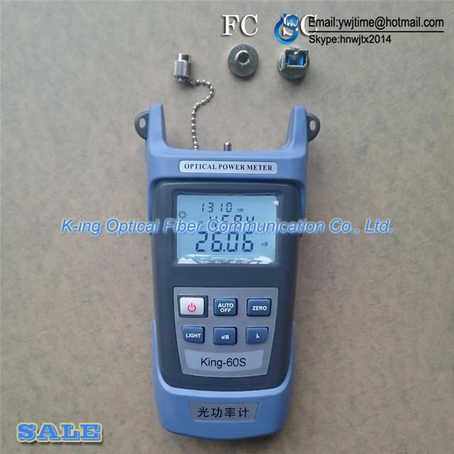 KING-60S OPM Fibra medidor de potencia óptica-70 ~ + $ number dbm