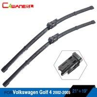 Vehicle Soft Rubber Frameless Wiper Blades 2Pcs Car Windshield Wiper Blade For VW Golf 4 2002