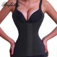 Black Seamless Sheath Bodysuits Women Slimming Girdle Sweat Sauna Hot Shaper Bust Waist Trainer Tops Belly