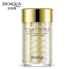 Bioaqua Natural Pearl Moisturizing Sleeping Mask Face Care Anti Wrinkle Hydrating Oil-control Night Facial Skin Cream