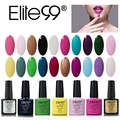 Elite99 7.3ml Nail Art UV Gel Polish Pick Any 30 Pieced or UV Gel Base And Top Coat Kit Set Nail Primer Gel Nail Polish