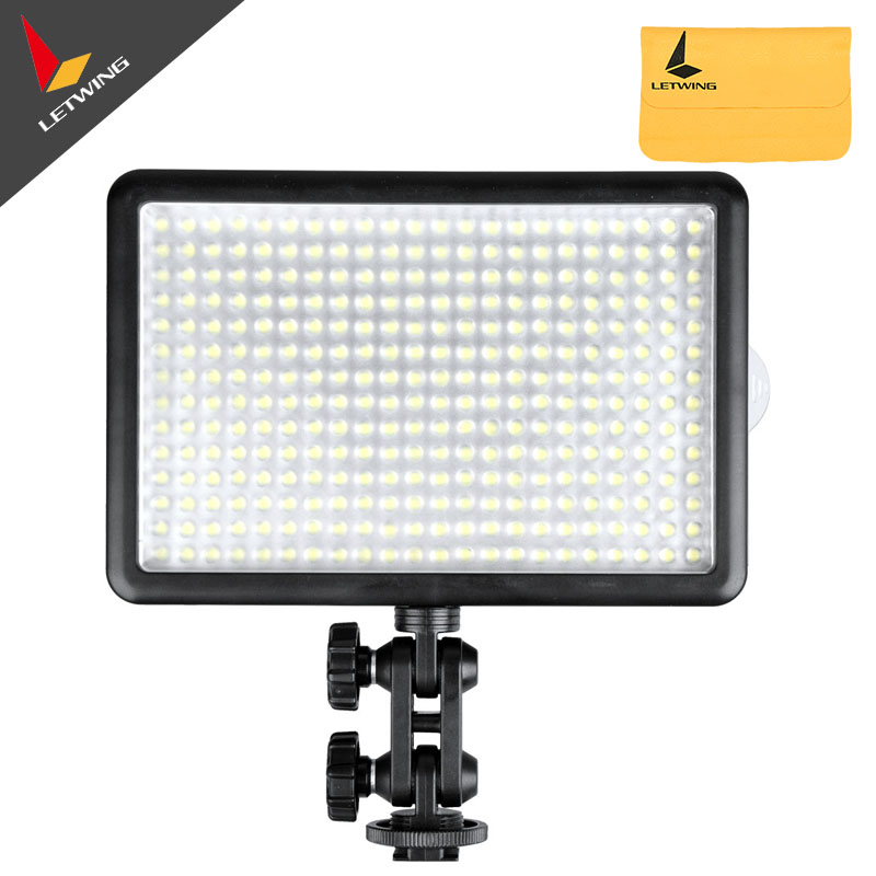 Godox LED 308Y 308 LEDs Professional LED Video (3300K) Light with Remote Control for Canon Nikon Camera DV Camcorder godox professional led video light