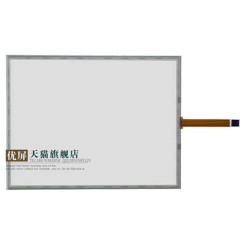 12 Inch Touch Screen excellent screen five wire resistive touch screen 12.1 inch 4:3 industrial display medical equipment heat pad