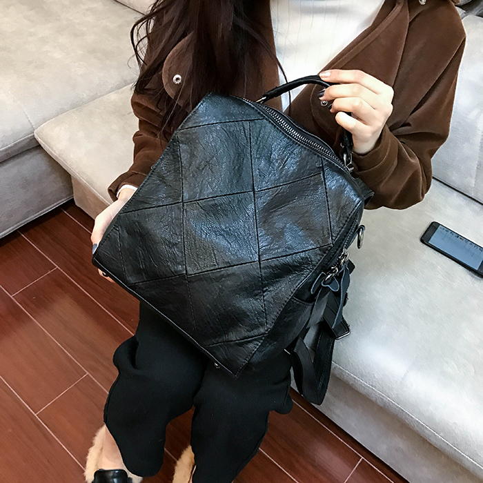 2018 New Women Leisure Travel Backpack Female Shoulder Bag School Knapsack mochila Bagpack Pack men student backpack vintage canvas backpack shoulder bag school bag travel bag book pack mochila satchel knapsack women bags