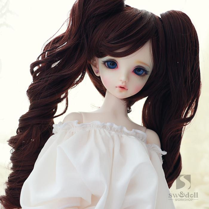 BJD wigs RW013 high temperature wire multi color long hair curly hair shedding 1/3 1/4 1/6 SD doll wig 1 8 1 6 1 4 1 3 uncle bjd sd dd doll accessories wigs gold long straight hair