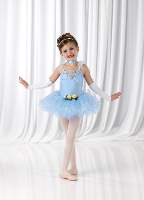 f3159bf5d5bd 2018 Ballet Tutu Gymnastics Leotard For Girls Leotard Female Child ...