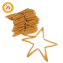 Montessori Material Learning Math 100/1000 Bead Chains Children Toy Teaching Aid montessori material educational children toys math teaching aid fractional plate wooden toy