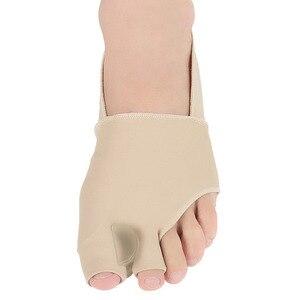 Image 3 - 1 paar S/L SEBS Big Toe Bunion Splint Corrector Foot Pain Relief Hallux Valgus für beide füße therapie Einfach zu tragen