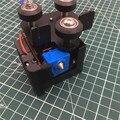 1 juego MK10 conjunto de extrusoras de Metal completo con carro para CR-10 Creality Ender MK10 CR10S 3D extrusora de impresora Kit de extremo caliente 1,75 MM