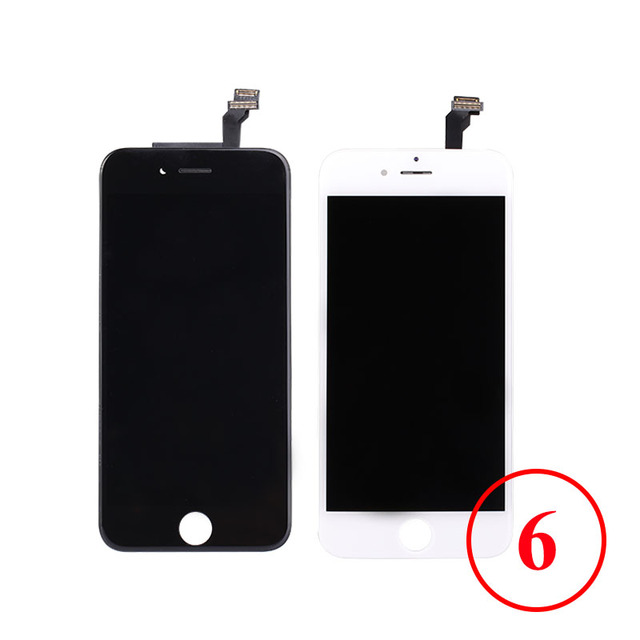 4.7 Inch For iPhone 6 LCD Display Touch Screen Digitizer Assembly Phone Replacement Parts LCD For iPhone 6 Display Black White
