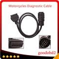 Para BMW ICOM D Cable Cable Cable Motobikes Diagnóstico Motocicletas 10Pin Adaptador trabajar con BMW ICOM o BMW ICOM A2 A3
