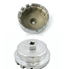 Qualitly buena venta caliente del coche Toyota Prius Corolla Rav4 Auris Taza De Aluminio Del Filtro de Aceite Llave