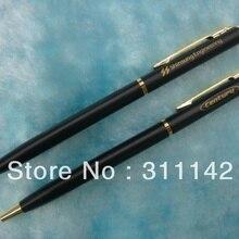 Лидер продаж, хорошее качество, рекламная металлическая ручка, 500 шт., с индивидуальным логотипом,, металлическая шариковая ручка, тонкая