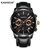 2018 KASHIDUN Quartz Watch Men Watches Top Brand Luxury Famous Wristwatch Male Clock Watches Waterproof Watch
