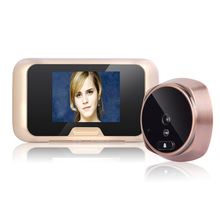 Mountainone 3.0″ TFT IR Day/Night View Digital Peephole Door Viewer Door Bell with 120 Degree Motion Video Doorphone Doorbell