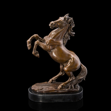 Best Selling Door to  High Quality discount sculptures Galloping Horse Statue CZW-081