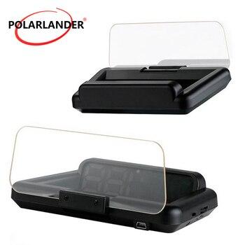 HUD HD Projector Stereo Imaging 8 Display Mode HUD OBD2 Digital Speedometer Car Windshield Projector Head Up Display C500