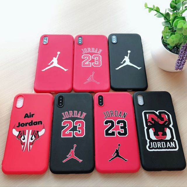size 40 5e165 62a23 US $2.49 |Jordan Air 23 Slam Dunk Basketball Shoes Case Cover For iPhone 8  7 6 6S Plus X XS Max XR 3D Embossed soft silicone TPU Coque-in Fitted Cases  ...