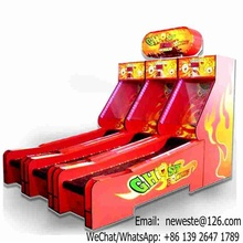 Arcade Amusement Redemption Games Coin Operated Bowling Game Machine