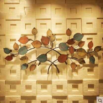 Anque couleur métal Plaque murale Vintage café boutique et Bar décor enfant chambre décoration murale salon fer tenture murale photo