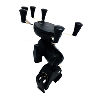 Universal Adjustable Motorcycle Cell Phone Holder Navigation Mobile Phone Mount Bracket For Iphone 5s 6 7