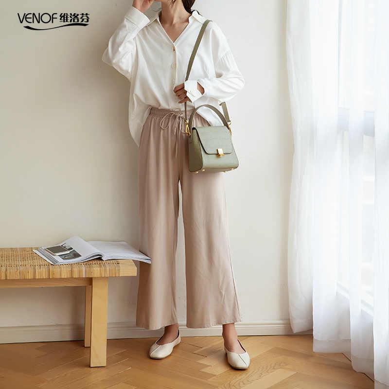 VENOF 2019, модная Натуральная кожа крокодила, женская сумка-ведро, женская сумка через плечо, элегантная женская Маленькая женская сумочка