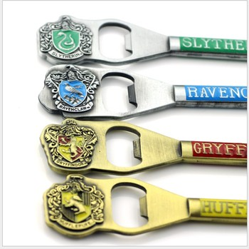 Free Shipping 20pcs on sale school badge bottle opener giveaways souvenir Key chain gift for guests